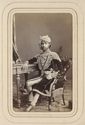 ALWAR: Sheodan Singh, Raja of Alwar (1845-1874). 12